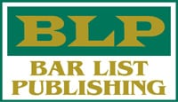 Bar List Publishing Company Logo